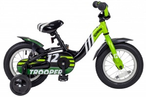 Велосипед SCHWINN TROOPER Black/Lime (53837)